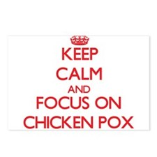 Cute Chicken pox Postcards (Package of 8)