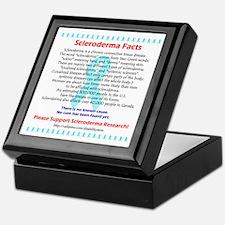 """""""Scleroderma Facts"""" Keepsake Box"""