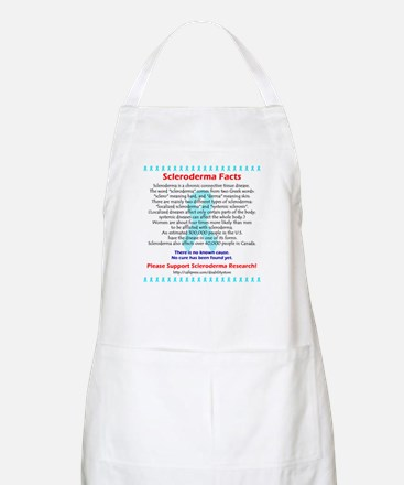 """""""Scleroderma Facts"""" BBQ Apron"""