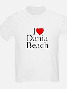"""I Love Dania Beach"" T-Shirt"