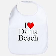 """I Love Dania Beach"" Bib"