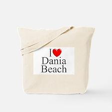 """""""I Love Dania Beach"""" Tote Bag"""