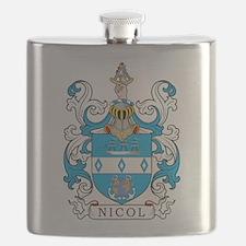 Nicol Family Crest Flask