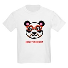 Mustache Panda with Glasses T-Shirt