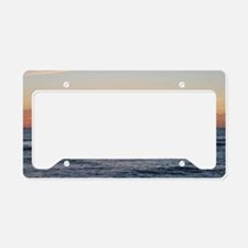 Cute Sunrise License Plate Holder