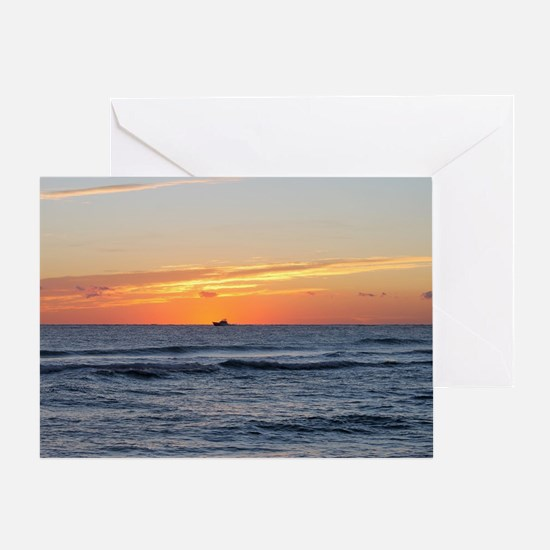 Funny Palm beach Greeting Card