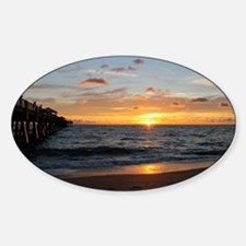 Cute Jupiter florida Sticker (Oval)