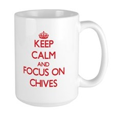 Keep Calm and focus on Chives Mugs