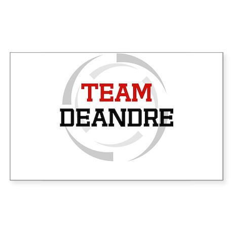 Deandre Rectangle Sticker