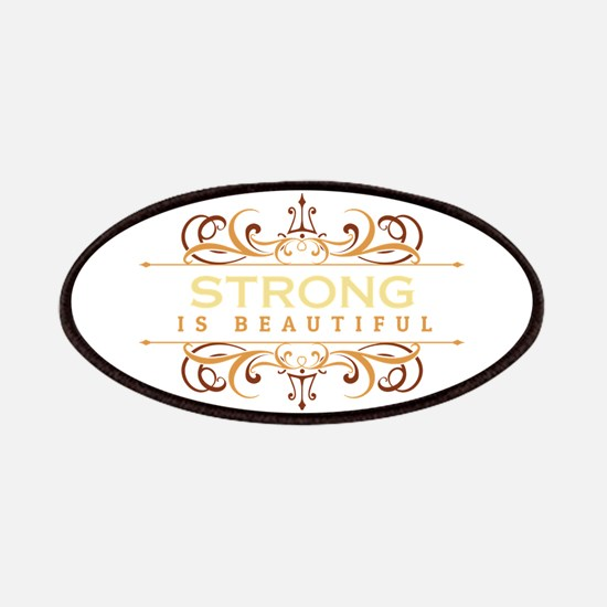 Strong is Beautiful Patches