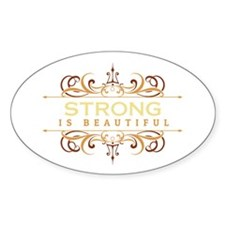 Strong is Beautiful Stickers