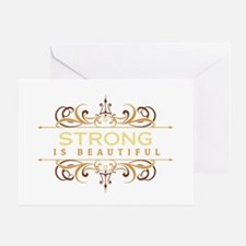 Strong is Beautiful Greeting Card