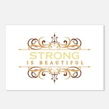 Strong is Beautiful Postcards (Package of 8)