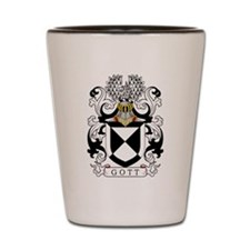 Gott Family Crest Shot Glass