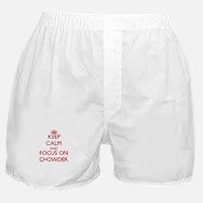 Unique Heart chowder Boxer Shorts