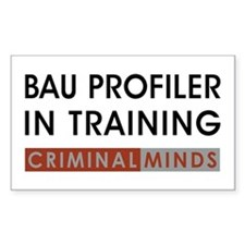 PROFILER IN TRAINING Decal