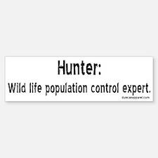 Hunters Bumper Bumper Bumper Sticker