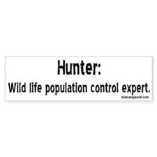 Hunters Bumper Bumper Sticker