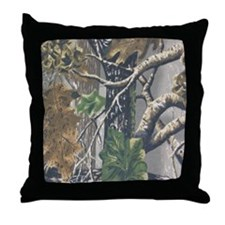 Camo 3 Throw Pillow