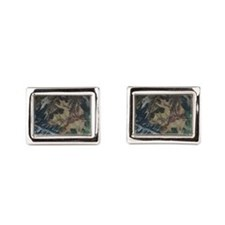 Camo 4 Rectangular Cufflinks