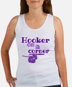 Cool Crochet hook Women's Tank Top