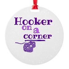 Cute Hooker Ornament