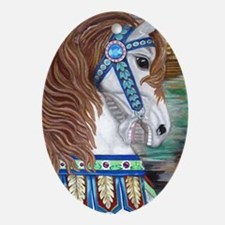 My Pegasus Oval Ornament