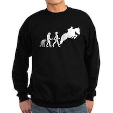 Female Horseback Rider Evolution Sweatshirt