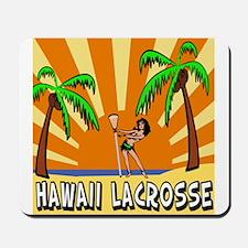 Lacrosse Hawaii Mousepad