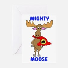 Mighty Moose Greeting Cards (Pk of 10)
