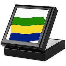 Gabon Flag 2 Keepsake Box