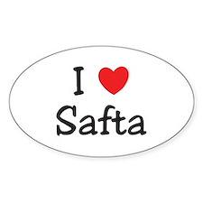 I love Safta Decal