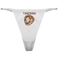 Tanzania With Lion Classic Thong