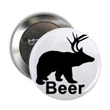 """Beer Hunter. 2.25"""" Button"""