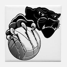Panther Pride Tile Coaster