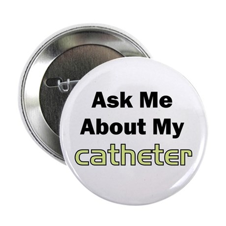"""Catheter 2.25"""" Button (100 pack)"""