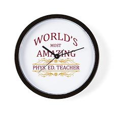 Phys. Ed. Teacher Wall Clock
