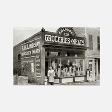Grocery & Meat Market, 1916 Magnets