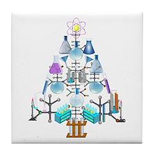Cute Science Tile Coaster