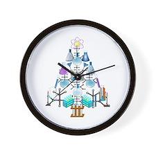 Unique Scientific Wall Clock