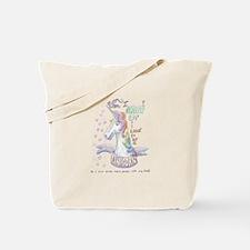 Unicorn when I Grow Up Tote Bag
