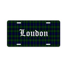 Loudon Aluminum License Plate