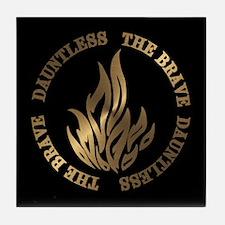Dauntless The Brave Tile Coaster