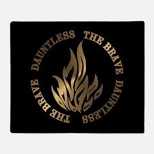 Dauntless The Brave Throw Blanket