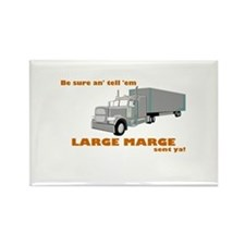 Large Marge dark design Magnets