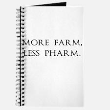 More Farm, Less Pharm Journal