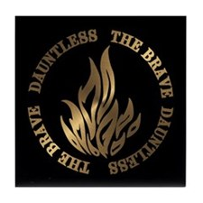Dauntless The Brave Tile Coaster