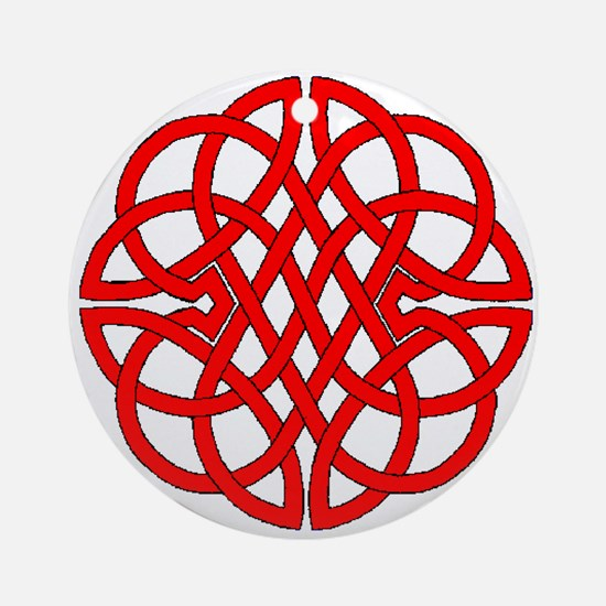 Celtic Knot 47 Ornament (Round)