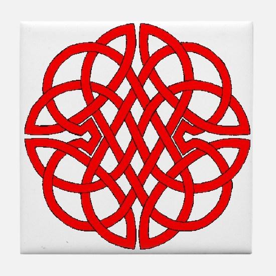 Celtic Knot 47 Tile Coaster
