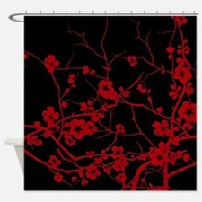 Funny Tree of peace Shower Curtain
